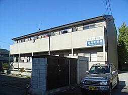 福岡県宗像市赤間5丁目の賃貸アパートの外観