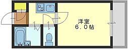 高井田ル・グラン[401号室]の間取り