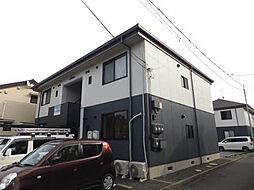 広島県福山市春日町1丁目の賃貸アパートの外観