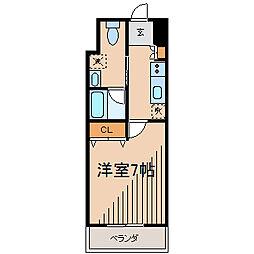 アーデン町田[6階]の間取り