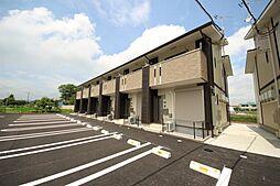 [テラスハウス] 栃木県鹿沼市千渡 の賃貸【/】の外観