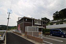 福岡県太宰府市御笠3の賃貸アパートの外観