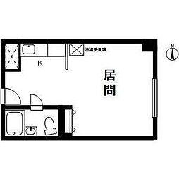 マンション桂[6階]の間取り