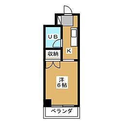 RESID'787[3階]の間取り