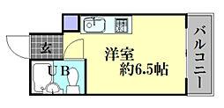 メゾン舟入[4階]の間取り