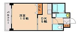 アネックスKT[1階]の間取り