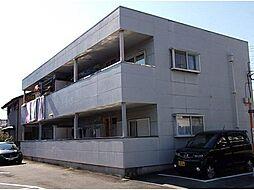 山梨県甲斐市長塚の賃貸アパートの外観