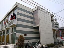 兵庫県姫路市神屋町4丁目の賃貸アパートの外観