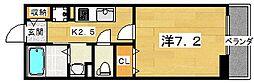 プログレN デルタ[2階]の間取り