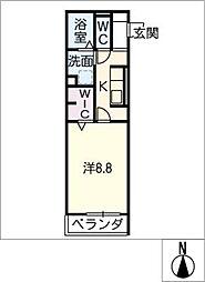 仮)D−room曙[3階]の間取り