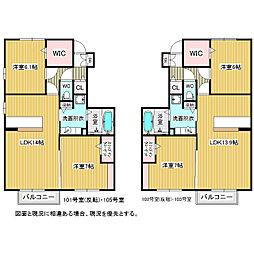 笹賀D-room(仮)[1階]の間取り