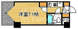 DETOM-1三条通[503号室号室]の間取り