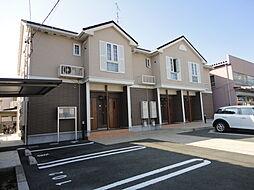 静岡県浜松市東区神立町の賃貸アパートの外観