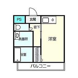 柴昭ビルエスパシオ[2階]の間取り