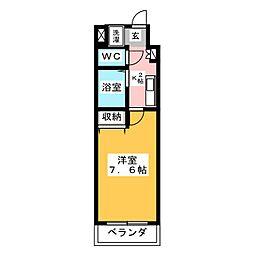 びいII植田[4階]の間取り