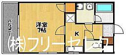 ソレイユ博多[1階]の間取り