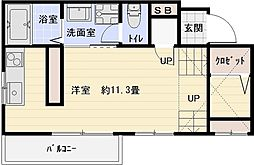 RENACE 25ans[2階]の間取り