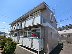千葉県成田市公津の杜2の賃貸アパートの外観
