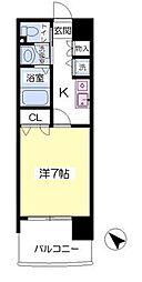 グレイスフルマンション東公園[9階]の間取り