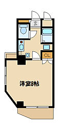 神奈川県相模原市南区南台5丁目の賃貸マンションの間取り