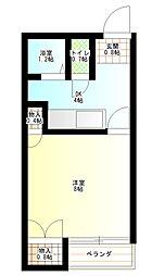 マインプラッツI[1階]の間取り