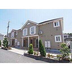 奈良県御所市茅原の賃貸アパートの外観