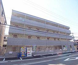京都府京都市左京区松ケ崎杉ケ海道町の賃貸マンションの外観