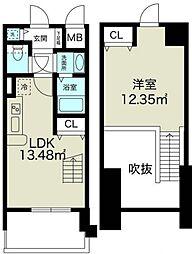 ノルデンタワー新大阪アネックス[7階]の間取り