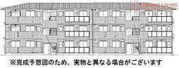 D-roomS・K B棟[2階]の外観