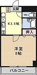メゾンYOU&I[508号室号室]の間取り