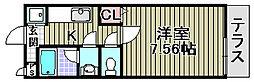 センペル・リンクウ[105号室]の間取り