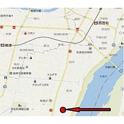 [一戸建] 岐阜県羽島郡笠松町長池 の賃貸【/】の外観