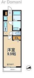 千葉県松戸市中和倉の賃貸マンションの間取り