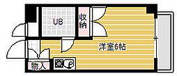 TOMBOY[4階]の間取り