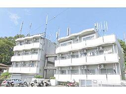 東京都日野市三沢5丁目の賃貸マンションの外観