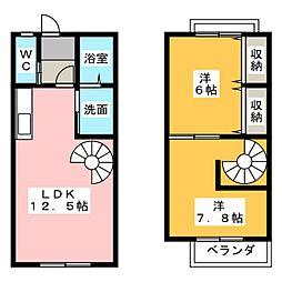 [テラスハウス] 愛知県弥富市前ケ須町勘助走 の賃貸【/】の間取り