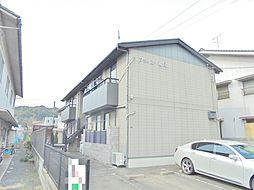 広島県福山市横尾町1丁目の賃貸アパートの外観