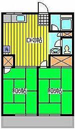 シテイハイム ラメール[2階]の間取り