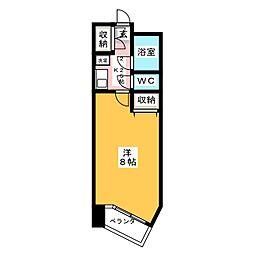 VIP仙台二日町[4階]の間取り