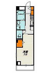 ブーゲンビリアプレイス[3階]の間取り