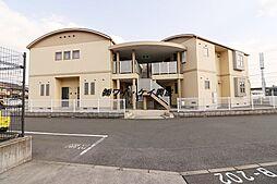 岡山県倉敷市老松町5丁目の賃貸アパートの外観