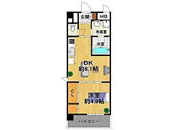 エル・セレーノ武庫之荘[2階]の間取り