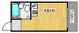 コスモレジデンス花園南[4階]の間取り