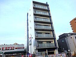 兵庫県尼崎市杭瀬北新町4の賃貸マンションの外観