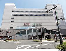 大井町駅(現地まで560m)