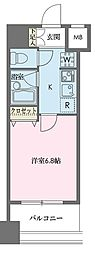 ドゥーエ新川[1004号室]の間取り