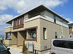 佐賀県三養基郡みやき町白壁の賃貸アパートの外観