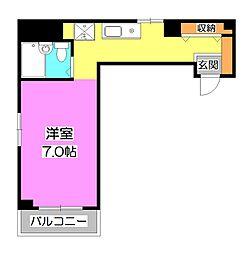 シティハウス東久留米[3階]の間取り