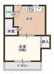 第2橋本ハイツ[3階]の間取り
