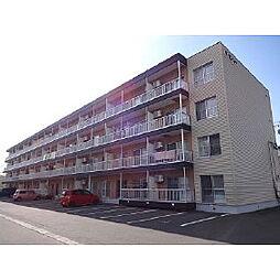 北海道苫小牧市沼ノ端中央6丁目の賃貸マンションの外観